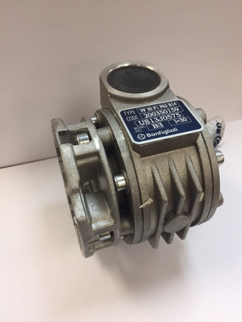 BONFIGLIOLI VF 30 F1 P63 B14 RIDUTTORI 10:1 Right Angle Gear Reducer D637483